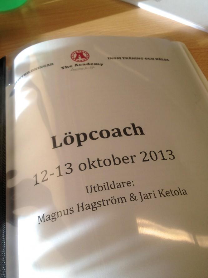 The Academy löpcoachutbildning