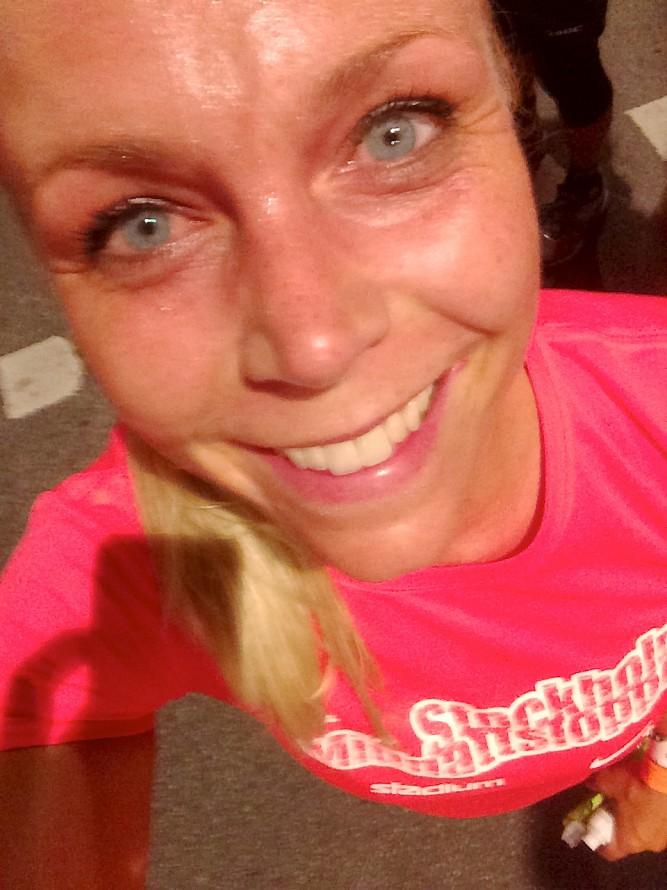 Helena Olmås Midnattsloppet 2014 Stockholm