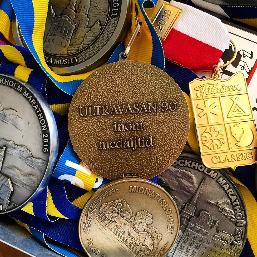Medalj ultravasan90