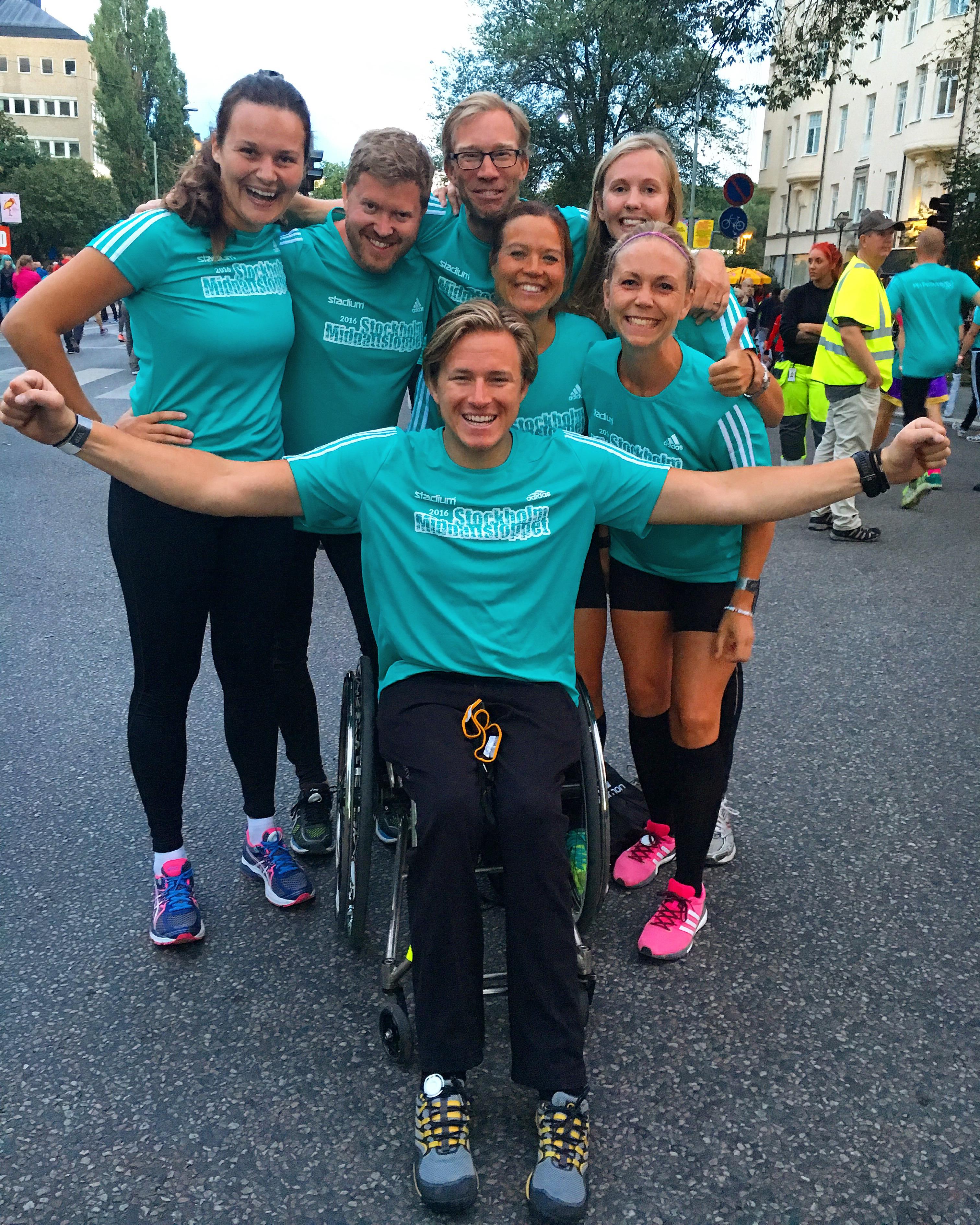 Midnattsloppet Team Aron