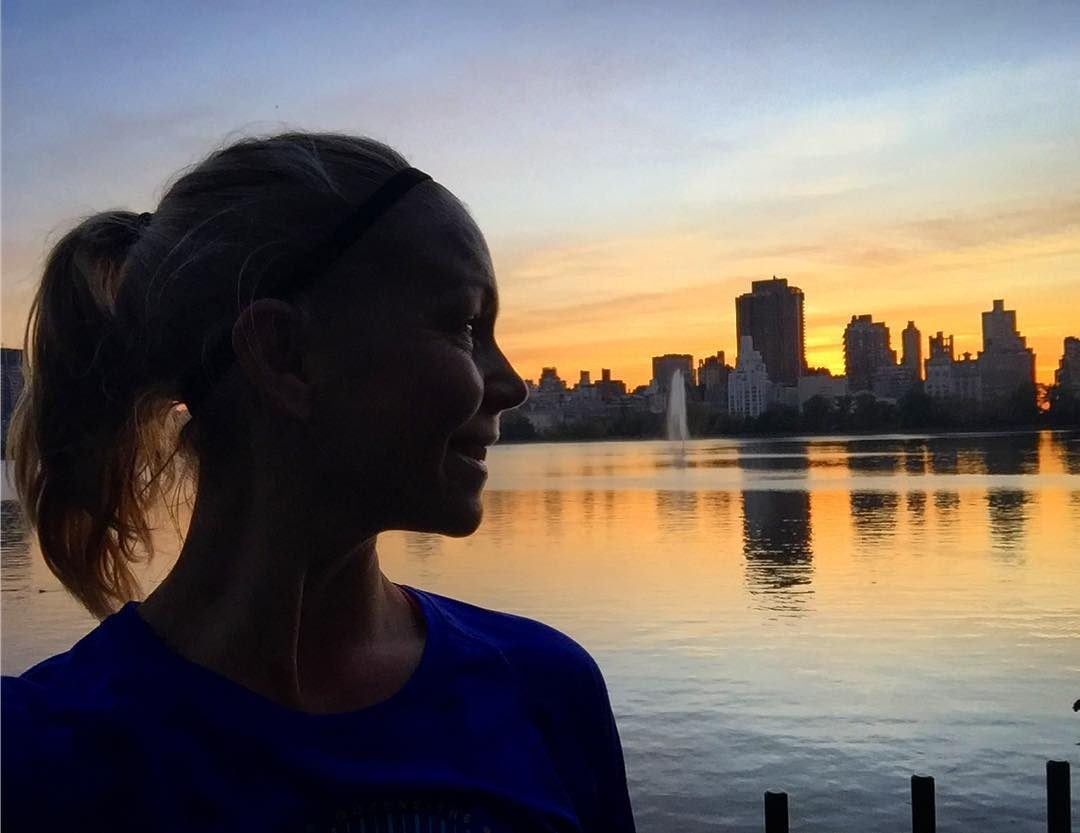 Another lovely morning run in Central Park... 2 days to go...‍♀️ #löpning #morgonlöpning #morningrun #running #springtimenycm17 @nycmarathon