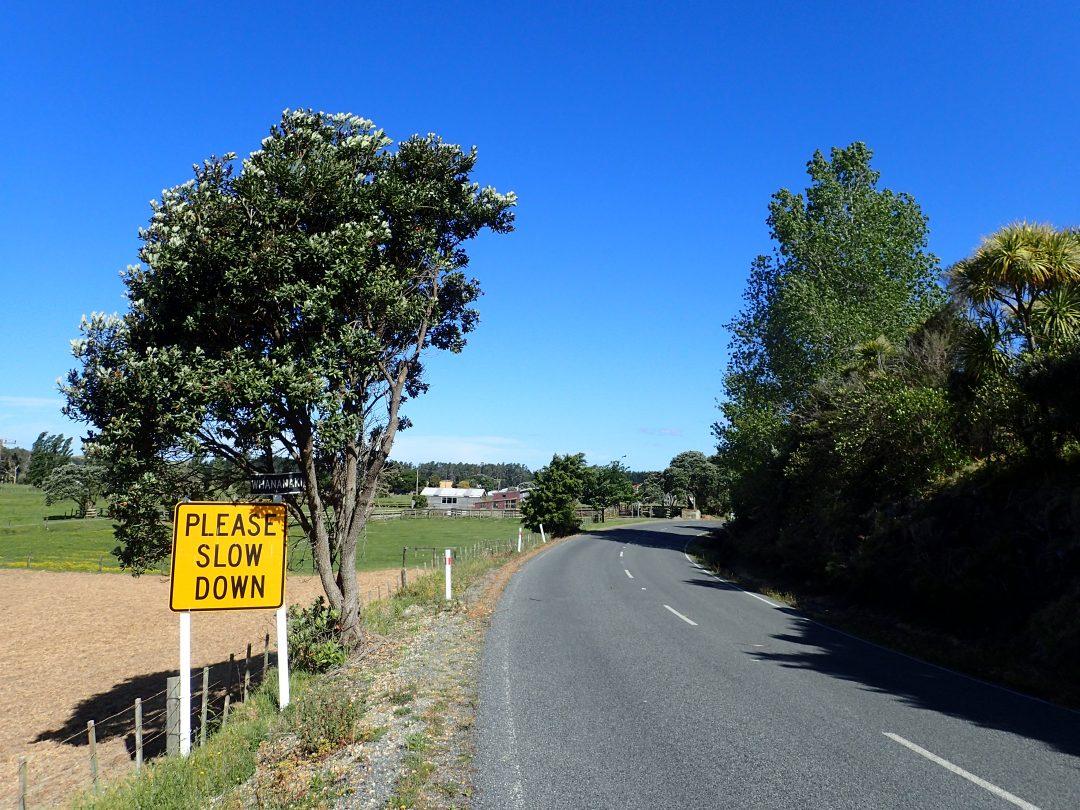 Slow down...bild från min vandring genom Nya Zeeland 2015/2016.