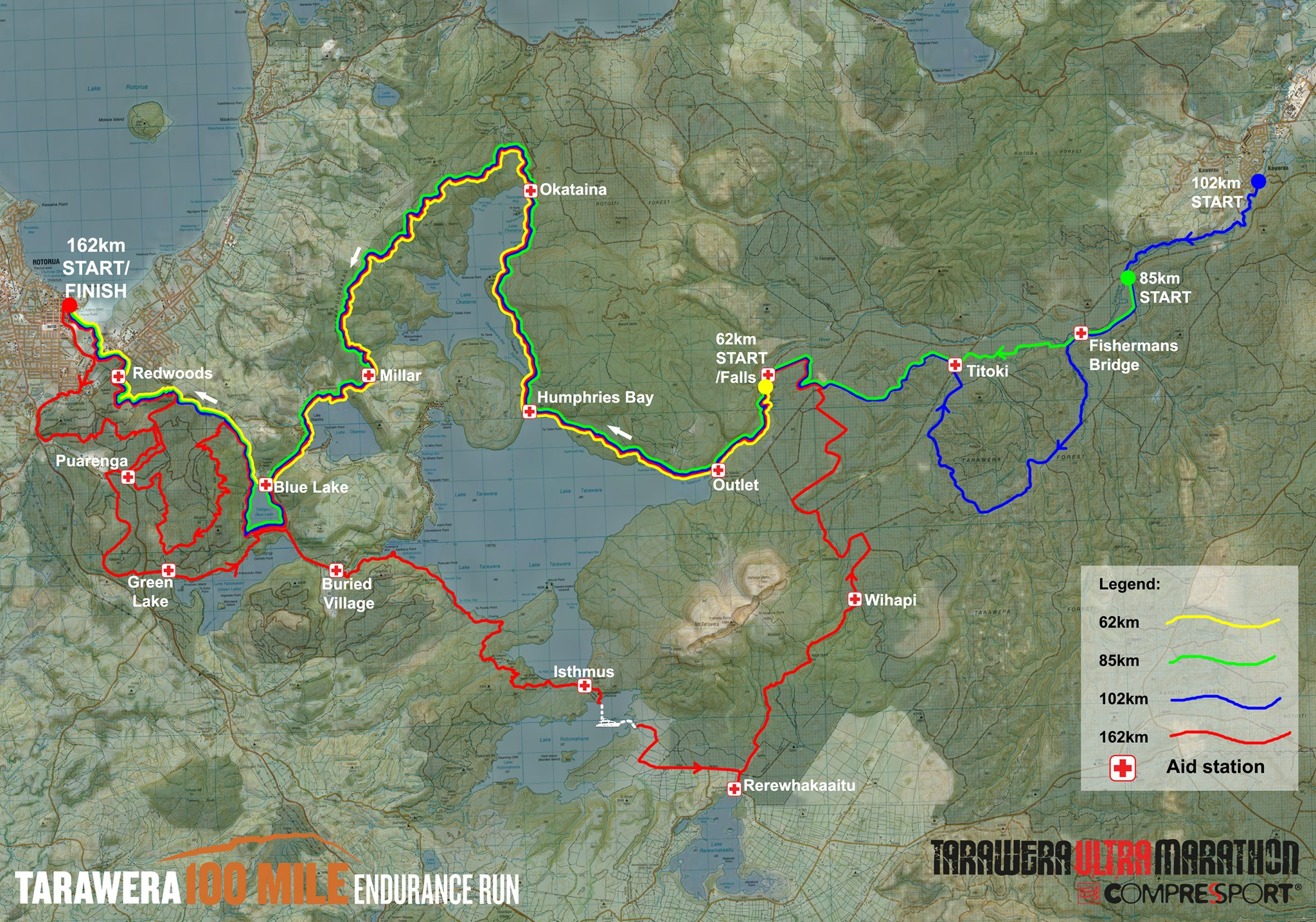 Tarawera ultramarathon 102k